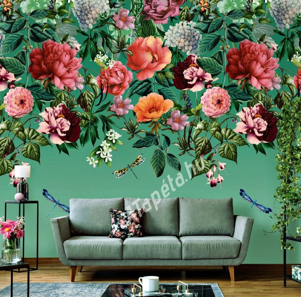 holden vlies falpanel utopia majorelle mural 99341 enterior